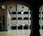 Beurs van Berlage, Damrak, Amsterdam 1896 to 1903. Architects: BERLAGE, EEKHOUT, ZAANEN Stock Photo - Premium Rights-Managed, Artist: Arcaid, Code: 845-03777214