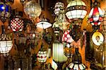 Lanterns in Souk, Marrakech, Morocco Stock Photo - Premium Rights-Managed, Artist: Nico Tondini, Code: 700-03778102