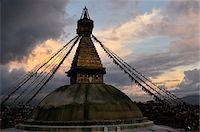 Boudhanath, Kathmandu, Nepal Stock Photo - Premium Rights-Managednull, Code: 700-03778221