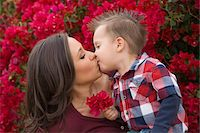 people kissing little boys - Mother and Son Kissing Stock Photo - Premium Rights-Managednull, Code: 700-03778515