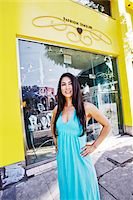 small business owners - Portrait of Owner in front of Store Stock Photo - Premium Rights-Managednull, Code: 700-03778564