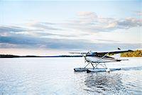 Seaplane on Otter Lake, Saskatchewan, Canada Stock Photo - Premium Rights-Managednull, Code: 700-03778610