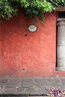 Address painted on stucco building Stock Photo - Premium Royalty-Freenull, Code: 632-03779380