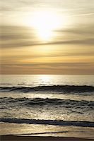 Waves of the Ocean at Sunrise Stock Photo - Premium Rights-Managednull, Code: 822-03781030