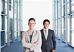 Business people standing together in office Stock Photo - Premium Royalty-Freenull, Code: 635-03781798