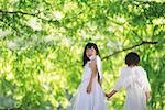Children Dressed as Angels Stock Photo - Premium Rights-Managed, Artist: Aflo Relax, Code: 859-03781917