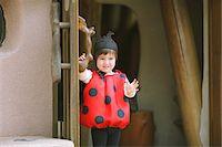 Smiling Boy Dressed as Ladybug Stock Photo - Premium Rights-Managednull, Code: 859-03781957