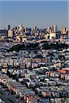 View of Downtown San Francisco From Excelsior District, California, USA Stock Photo - Premium Rights-Managed, Artist: Damir Frkovic, Code: 700-03782455