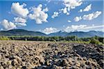 Lava Beds, Nisga'a Memorial Lava Beds Provincial Park, Coast Mountains, British Columbia, Canada