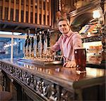 Landlord in English pub Stock Photo - Premium Royalty-Free, Artist: Cultura RM, Code: 649-03797284