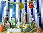 Easter Decorations and Candy Stock Photo - Premium Rights-Managed, Artist: Michael Alberstat, Code: 700-03799482