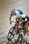 Cyclists racing on velodrome Stock Photo - Premium Rights-Managed, Artist: Aflo Sport, Code: 858-03799733