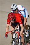 Bicycle racers racing on velodrome Stock Photo - Premium Rights-Managed, Artist: Aflo Sport, Code: 858-03799736