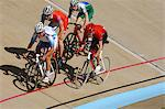 Bicycle racers racing on track Stock Photo - Premium Rights-Managed, Artist: Aflo Sport, Code: 858-03799742