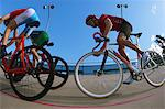 Bicycle racers on velodrome Stock Photo - Premium Rights-Managed, Artist: Aflo Sport, Code: 858-03799746