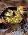 Pistou soup Stock Photo - Premium Royalty-Free, Artist: F1Online, Code: 652-03800085