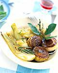fennel and onion confit Stock Photo - Premium Royalty-Free, Artist: Photocuisine, Code: 652-03800121