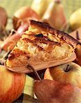 gibaldipontine apple and pear tart Stock Photo - Premium Royalty-Free, Artist: Photocuisine, Code: 652-03800172