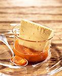 Honey and saffron iced Parfait Stock Photo - Premium Royalty-Free, Artist: Photocuisine, Code: 652-03800229