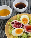 Marinated eggs Stock Photo - Premium Royalty-Free, Artist: Photocuisine, Code: 652-03801431