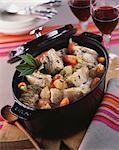 Casserole dish of veal Blanquette Stock Photo - Premium Royalty-Free, Artist: Transtock, Code: 652-03801998