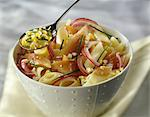 Penne and fish salad Stock Photo - Premium Royalty-Free, Artist: Photocuisine, Code: 652-03802028