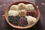 Assorted rice Stock Photo - Premium Royalty-Free, Artist: Photocuisine, Code: 652-03802428