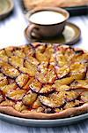 Plum tart Stock Photo - Premium Royalty-Free, Artist: Photocuisine, Code: 652-03802431