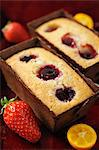 Raspberry Financiers Stock Photo - Premium Royalty-Free, Artist: Photocuisine, Code: 652-03803923