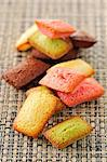 Selection of different-flavored mini Financiers Stock Photo - Premium Royalty-Free, Artist: Photocuisine, Code: 652-03804543