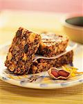 Cereal and dried fruit Turron Stock Photo - Premium Royalty-Free, Artist: Photocuisine, Code: 652-03805143