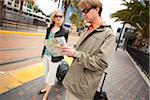 Couple with Luggage Waiting for Train, San Diego, California, USA Stock Photo - Premium Rights-Managed, Artist: Ty Milford, Code: 700-03805278