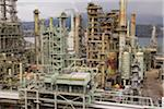 Chevron Oil Refinery on Burrard Inlet, Burnaby, British Columbia, Canada Stock Photo - Premium Rights-Managed, Artist: J. A. Kraulis, Code: 700-03805564