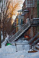 The Mile End neighbourhood is characterized by the common life of Italian and Jewish people. Montreal, Canada Stock Photo - Premium Rights-Managednull, Code: 862-03807334