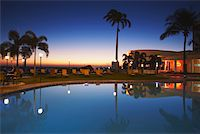 exotic outdoors - Pool at Hotel Cardoso at sunset, Maputo, Mozambique Stock Photo - Premium Rights-Managednull, Code: 862-03807917