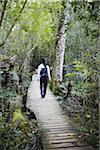 Woman walking along forest trail, Storms River, Eastern Cape, South Africa Stock Photo - Premium Rights-Managed, Artist: AWL Images, Code: 862-03808541
