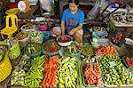 Thailand, in the direction of Bangkok, Maeklong station, in the market, vegetables Stock Photo - Premium Royalty-Freenull, Code: 610-03809277