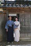 Samurai Couple Stock Photo - Premium Rights-Managed, Artist: Aflo Relax, Code: 859-03811397