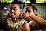 Traditional Tongan Dancers at Tonga National Cultural Centre, Nuku'alofa, Tongatapu, Kingdom of Tonga Stock Photo - Premium Rights-Managed, Artist: R. Ian Lloyd, Code: 700-03814162