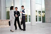 southeast asian - Business People Talking Outside of Office Building Stock Photo - Premium Rights-Managednull, Code: 700-03814352
