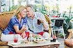 Couple at Restaurant Stock Photo - Premium Rights-Managed, Artist: Kevin Dodge, Code: 700-03814481