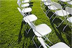 White Chairs Outdoors Stock Photo - Premium Royalty-Free, Artist: Mitch Tobias, Code: 600-03814721