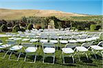 Seats Arrnged for Wedding Ceremony, Livermore, California, USA Stock Photo - Premium Rights-Managed, Artist: Mitch Tobias, Code: 700-03814742