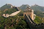 China, Great Wall.Simatai, a section of the Great Wall of China located in the north of Miyun County, 120 km northeast of Beijing, holds the access to Gubeikou, a strategic pass in the eastern part of the Great Wall. Stock Photo - Premium Rights-Managed, Artist: AWL Images, Code: 862-03820250