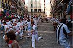 Running of the Bulls, Fiesta de San Fermin, Pamplona, Navarre, Spain Stock Photo - Premium Rights-Managed, Artist: Emanuele Ciccomartino, Code: 700-03821097