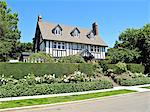 tudor style house Stock Photo - Premium Royalty-Freenull, Code: 673-03826349