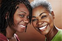 Portrait of Mother and Daughter Stock Photo - Premium Rights-Managednull, Code: 700-03836216