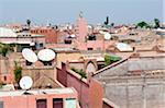 Rooftops. Marrakech, Morocco Stock Photo - Premium Rights-Managed, Artist: Nico Tondini, Code: 700-03836385