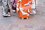 Women wearing kimono and sandals Stock Photo - Premium Rights-Managed, Artist: Aflo Relax, Code: 859-03839688