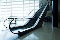 Escalator Stock Photo - Premium Royalty-Freenull, Code: 632-03847725